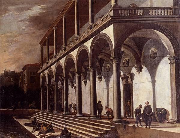 View Of The Villa Poggioreale Naples